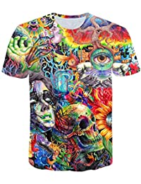 96ff82877 INCLUDS Ancient Knowledge T Shirt Psychedelic 3D Print t Shirt Women Men  Fashion Clothing Tops Outfits