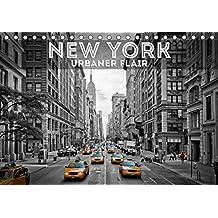 NEW YORK Urbaner Flair (Tischkalender 2019 DIN A5 quer): Typisches aus Manhattan und Brooklyn (Monatskalender, 14 Seiten ) (CALVENDO Orte)