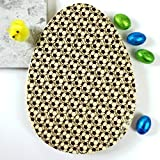 A stunning flat Easter egg with a football design in solid couverture white chocolate beautifully presented in a card box. This really chunky 230g chocolate egg has a repeating football pattern and is available in white couverture chocolate o...