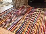Best Braided Rugs - Fair Trade Braided Rag Rug 90cm x 150cm Review