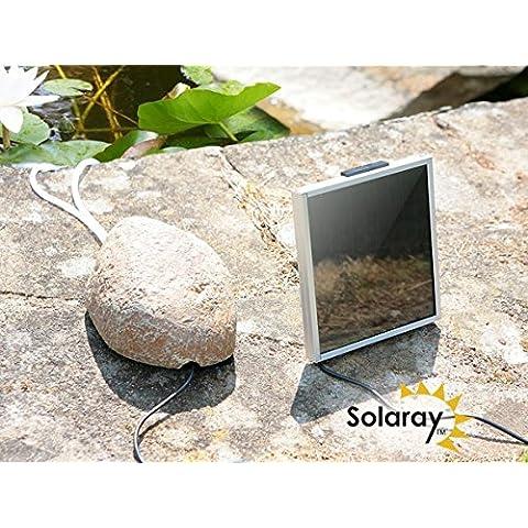 Primrose aireador Solar/oxigenador de piedra con diseño de Pebble 2