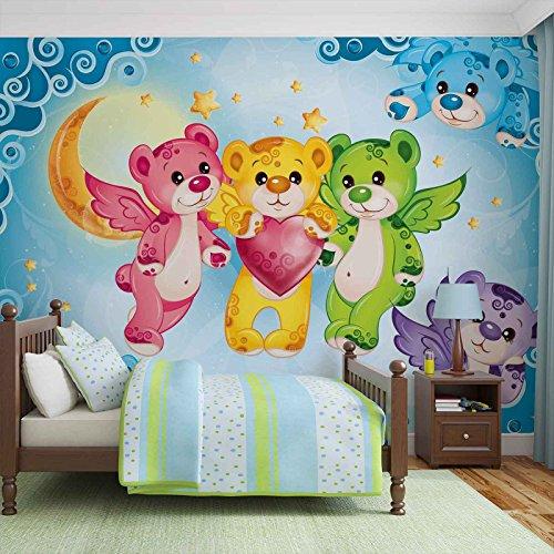 care-bear-heart-photo-wallpaper-wall-mural-giant-wall-poster-xl-184cm-x-254cm-standard-paper-not-eas