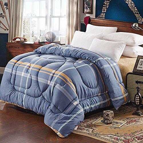 Polyester Betten/Bettwaren Wärme Voll/Queen/Voll/Twin Size Daunendecke Bettdecke einfügen, hypoallergen, genäht, bedruckt Quilt, ewige Liebe, 200 x 230 cm (3 Kg)