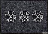Salonloewe Fußmatte waschbar Finn Anthrazit 40x60 SLD0875-040x060