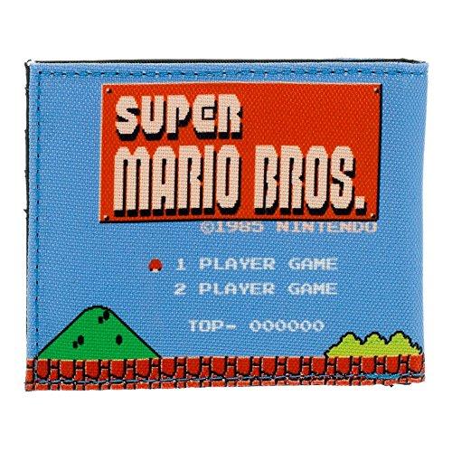 Nintendo Super Mario Bros. Tarjetero, azul (Rojo) - BIO-MW1PX6SMS