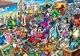 2000 Piece Jigsaw Puzzle Disney Mickey Movie Studios Gyu-tto Series (51x73.5cm) by Tenyo