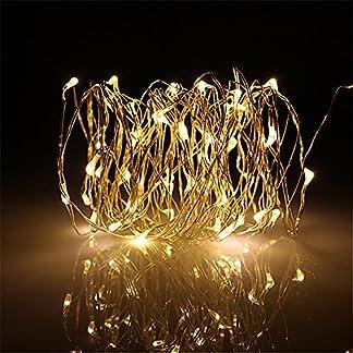 BUYERTIME 5M/16.4Ft 50 LEDs Cadena de Luces