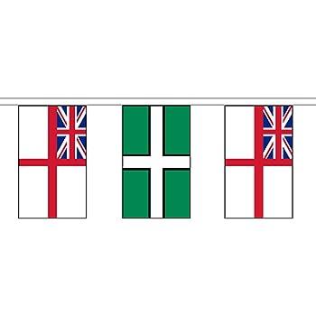 Dorset New British County 6 metre long 20 flag bunting