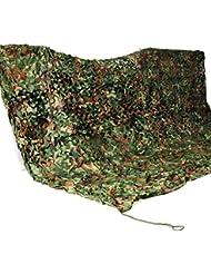 Toldo lona sombrilla militar de camuflaje de 2 x 3 metros