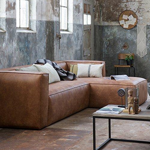 Maison ESTO Sofa-Ecke rechts, Breite: 305 cm Tiefe: 96/175 cm Höhe: 73 cm