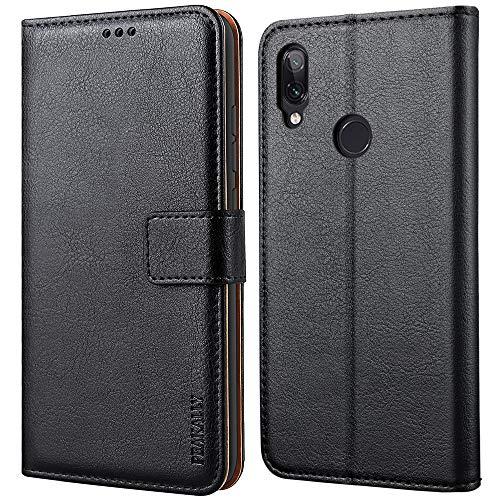 Peakally Funda Xiaomi Redmi Note 7 / Redmi Note 7 Pro, Carcasa Cuero Fundas para...