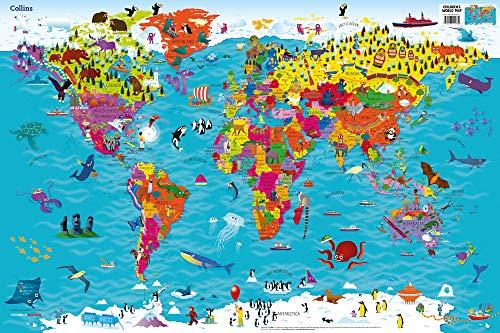 Collins Children's World Map por Collins Maps