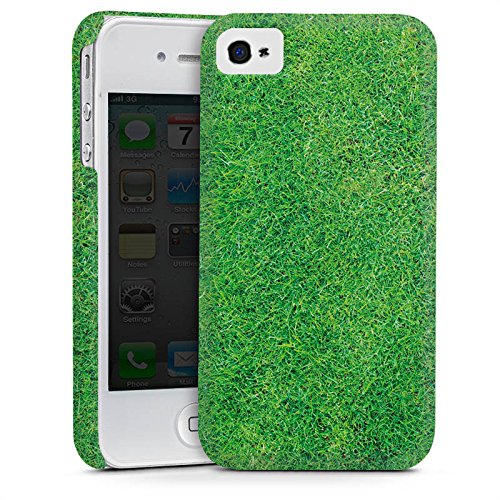Apple iPhone 5 Housse Outdoor Étui militaire Coque Herbe Pelouse Brins d'herbe Cas Premium mat