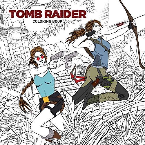 Tomb Raider Adult Coloring Book