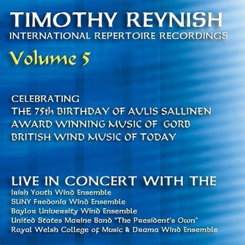 Timothy Reynish Live in Concert, Vol. 5