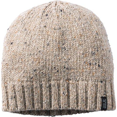 Jack Wolfskin Mens & Womens Merino Chunky Knit Basic Cap Hat - Merino Knit Hat