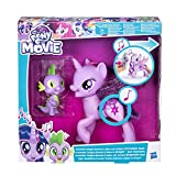 Hasbro My Little Pony C0718100 - Movie Prinzessin Twilight Sparkle und Spike, der Drache Singendes Duo, Spielset