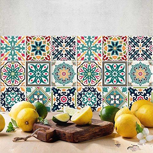 24 (Piezas) Adhesivo para Azulejos 15x15 cm - PS00116 - Málaga -...