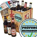 Prüfung bestanden | Geschenkbox mit Bieren aus Ostdeutschland