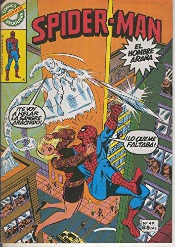 Comics Bruguera: Spiderman numero 49 (numerado 1 en trasera)