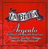 Cuerdas para guitarra clásica La Bella ASFALTO-set, media tensión