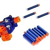 Inditradition Plastic Form Toy Bullet Darts | for Nerf N-Strike Elite Guns (Pack of 20)