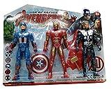 #10: Super Heroes - 3 in 1 Action Figure Set