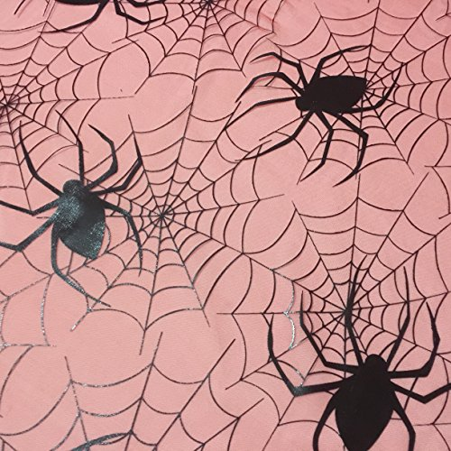 (Rot Halloween Spider Bahnen Spooky Net Stoff für Dekorationen Kleid & Kostüme 149,9cm–149cm breit–Meterware)