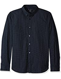 French Connection Herren Freizeithemd Summer Dot Slim