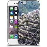 "Super Galaxy Coque de Protection TPU Silicone Case pour // F00029088 Valle de almendros en flor // Apple iPhone 6 6S 6G PLUS 5.5"""