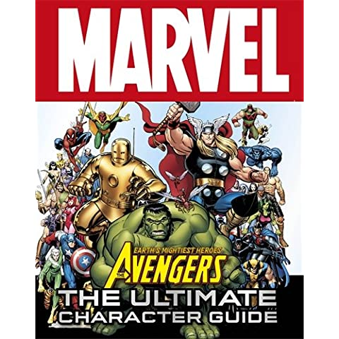 Marvel Avengers The Ultimate Character Guide (Dk)