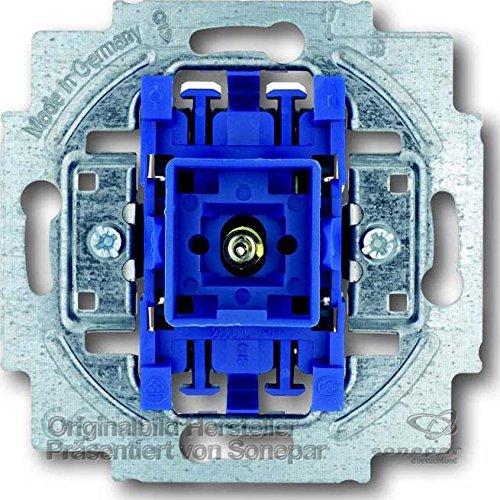 Busch-Jaeger Wechselschalter mit Beleuchtung, 2000/6USGL (Licht-schalter Montieren)