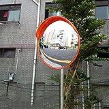 Specchio Convesso di Sicurezza, Specchio Panoramico Specchietto stradale, Specchio convesso da traffico,diametro 30/45/60 cm, per la sicurezza stradale e la sicurezza negozio (60CM)