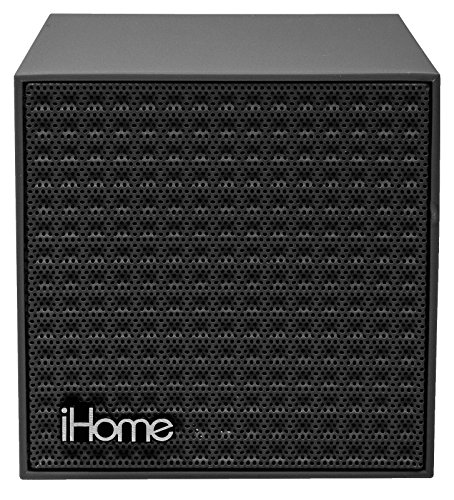 iHome Bluetooth Rechargeable Mini Speaker Cube - Gray