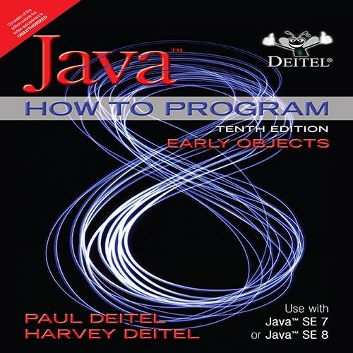 Java How To Program, 10/E