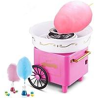 Machine à Barbe à Papa,500W Électrique Candy Floss Maker pour Maison et Fete Foraine Anniversaire Enfant (Rétro Rose)