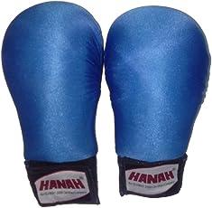 Karate Gloves Blue Large