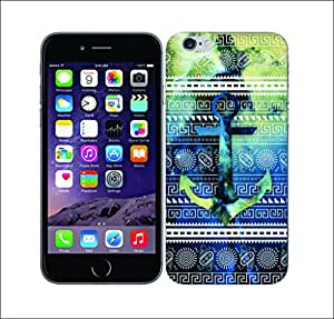 Galaxy Printed 2477 Nebula Tribals Anchor Hard Cover for Apple Iphone 6