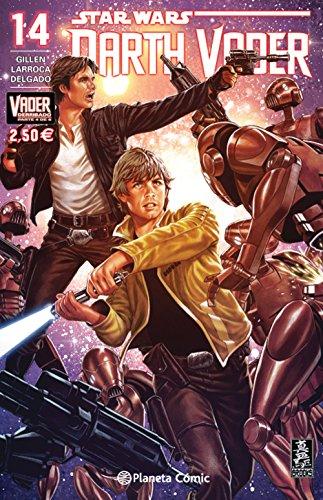 Star Wars Darth Vader nº 14/25 (Vader derribado 4 de 6) (Star Wars: Cómics Grapa Marvel) por Salvador Larroca