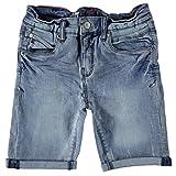 Blue Rebel REBAR Kinder Jungen Jeansshorts Bermuda (122)