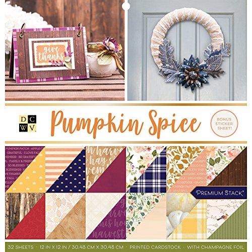 DCWV 614568 Pumpkin Spice Stacks, Multi - Spice Stack