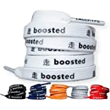 LaceHype Schnürsenkel geeignet für Adidas Ultra Boost, NMD und Nike Air Max, Jordan, Force Sneakers BOOSTED flach…