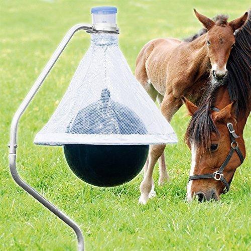 Tabanus-Trap Bremsenfalle für Pferde | inkl. Erdbohrer und Easy Clean Funktion