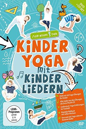 Kinderyoga mit Kinderliedern – mein erstes Yoga (DVD+CD+Mandala-Malheft)