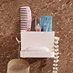 HOME CUBE 1 Pc Multipurpose Self Adhesive Toothbrush Toothpaste Storage Holder Rack, Saop Holder,Shower Caddy, Storage...