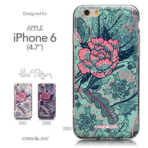 CASEiLIKE Wandschmierereien 2703 Ultra Slim Back Hart Plastik Stoßstange Hülle Cover for Apple iPhone 6 / 6S (4.7 inch) +Folie Displayschutzfolie +Eingabestift Touchstift (Zufällige Farbe) 2253