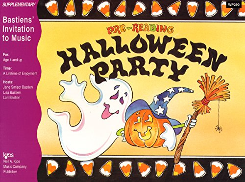 (WP290 - Invitation to Music - Pre - Reading Halloween Party)