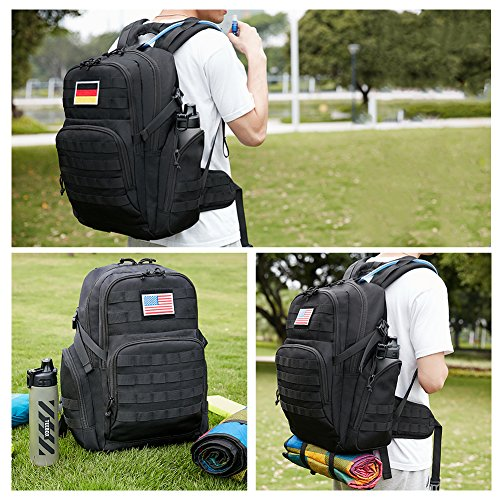 617lk1UINcL. SS500  - KALIDI 35L Military Tactical Backpack Rucksack with USB Charging Port for Outdoor Hiking Camping Trekking
