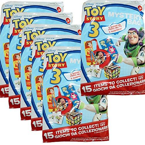 Disney 6 Stück Wundertüte Partytüte Kindergeburtstag Party Geburtstag Toy Story Überraschung