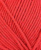 Rowan Handstrickgarn pure wool worsted Farbe 00136 rot 100 % Schurwolle 100 g waschbar 200m Lauflänge